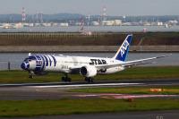 ニュース画像:R2-D2 ANA JET、羽田到着