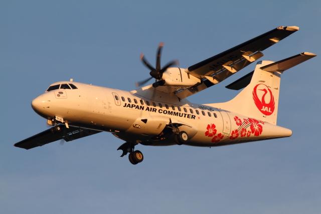 ニュース画像 1枚目:日本エアコミューター ATR-42-600 イメージ (mukku@RJFKさん撮影)