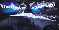 ニュース画像:ロシアの新型ステルス戦闘機「LTSチェックメイト」公開