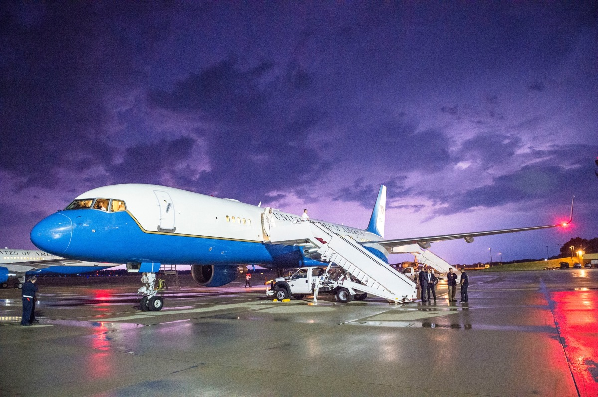 ニュース画像 1枚目:バイデン大統領のジル夫人来日時に使用が予想されるC-32A
