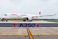 エアバス、天津工場から初のA350-900納入の画像