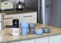 ニュース画像:A-style、エコなコーヒーカップ「stojo」とコーヒーメーカー販売
