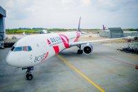 ニュース画像:デルタ航空、乳がん啓発月間で「ブレスト・キャンサー・ワン」を運航
