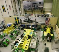 ニュース画像:サーブ、T-7Aレッドホーク2機目の後部胴体をボーイングに納入