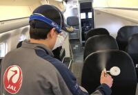 ニュース画像:JAL、国内線タッチレスセンサ設置・空港や機内の抗菌コーティング完了