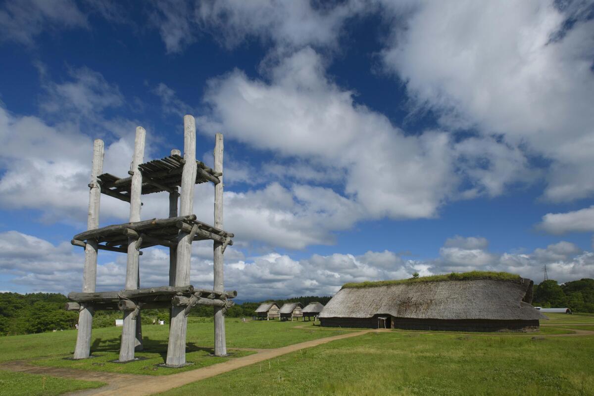 ニュース画像 1枚目:青森県の三内丸山遺跡