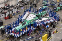 ニュース画像:NASA低ソニックブーム超音速機 X-59、外観表れる