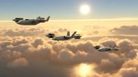 ニュース画像:ベル次世代高速VTOL機コンセプト、回転翼のホバリングとスピード融合