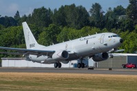 ニュース画像:ノルウェー空軍のP-8Aポセイドン初号機、初飛行