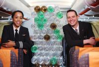 ニュース画像:イージージェット、運航・客室乗務員制服の生地 原料はペットボトル!?