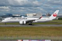 ニュース画像:JALのA350、計10機に到達 「JA10XJ」受領