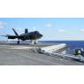 ニュース画像 3枚目:2015年10月3日、No.3カタパルトから射出されるF-35C