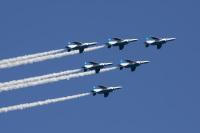 ニュース画像:ブルーインパルス、8月21日は都心での飛行実施なし