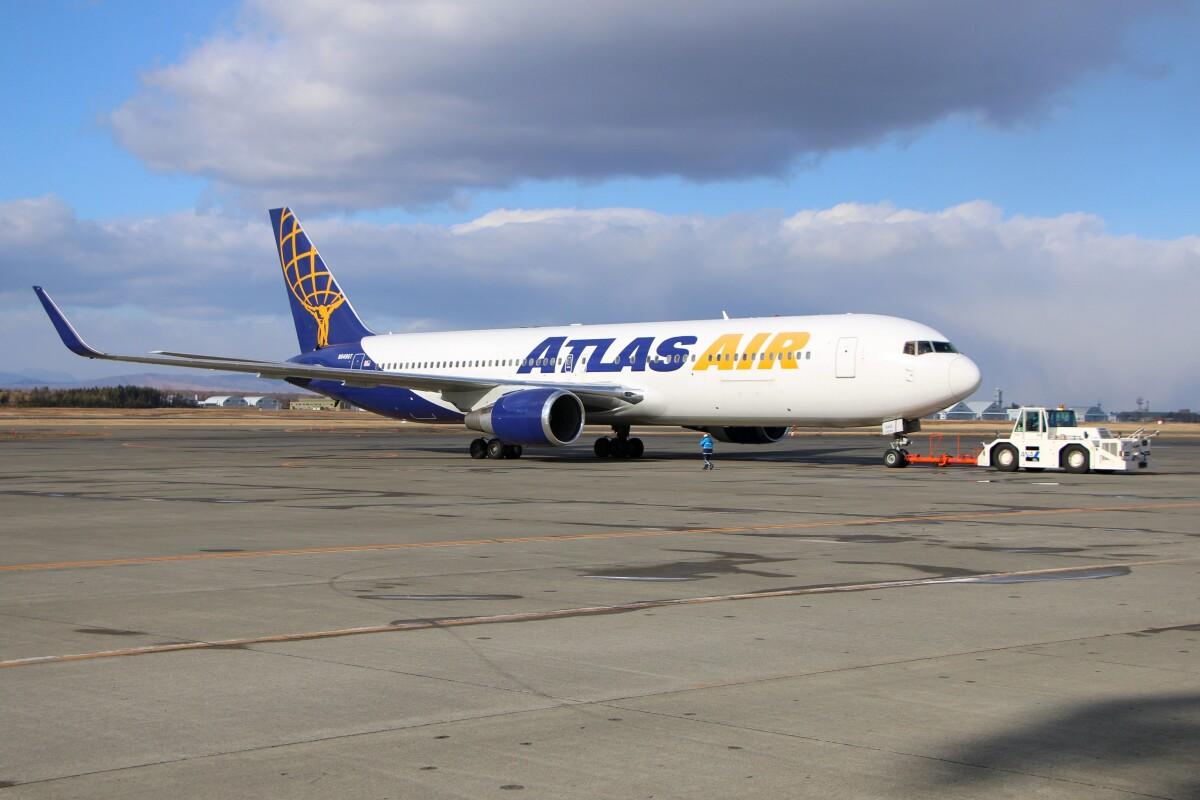 ニュース画像 1枚目:アトラス航空、ボーイング767-300ER型 (北の熊さん撮影)