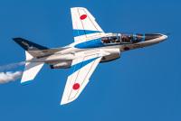ニュース画像:ブルーインパルス、8月24日14時〜14時15分に3色カラースモークで都心飛行