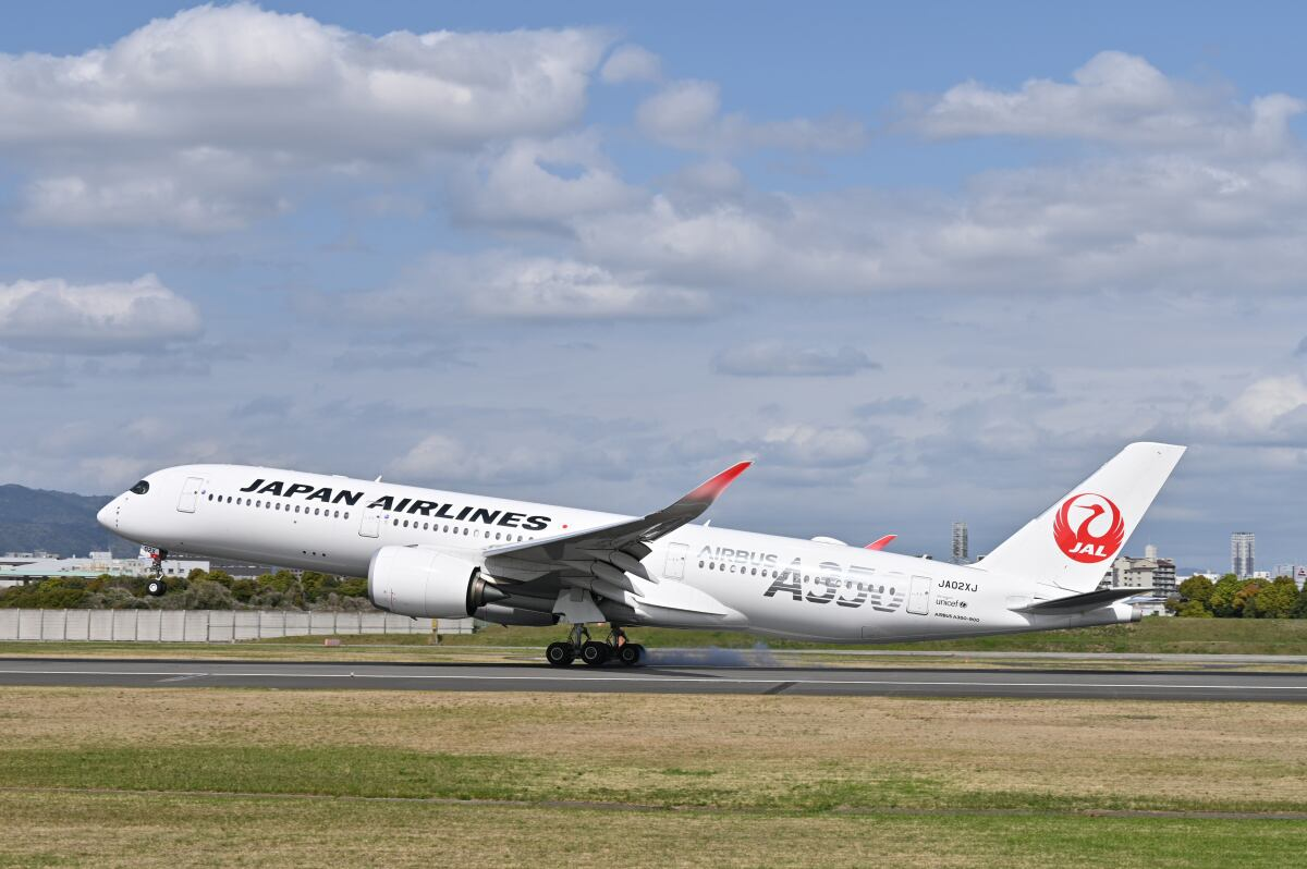 ニュース画像 4枚目:羽田/伊丹線にA350本格投入で見る機会が増える (天心さん撮影)