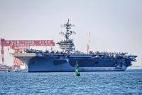 ニュース画像:F-35C搭載する空母カール・ヴィンソン、横須賀出港へ