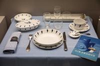 ニュース画像:ユネスコ無形文化遺産「フランスの美食術」、エールフランスの機内食器が登場!