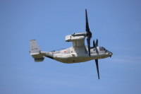 ニュース画像:陸自V-22オスプレイ、離着陸・計器進入訓練で館山と百里に飛行