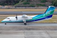 ニュース画像:オリエンタルエアブリッジ、DHC-8-200「JA803B」モデルプレーン再販スタート
