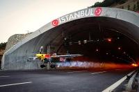 ニュース画像:自動車用のトンネル1.6キロメートル飛行、ギネス記録誕生