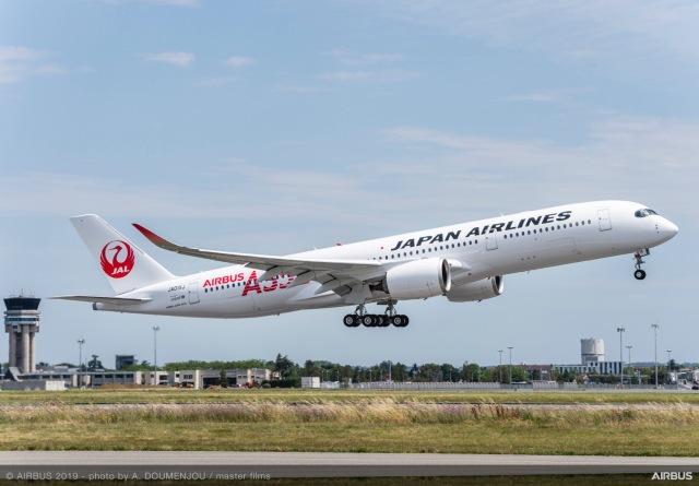 ニュース画像 1枚目:JALイメージ 画像はA350-900