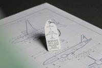 ニュース画像:キャセイの「羽田ジェット」やユニフォームから製作したグッズ販売 75周年記念
