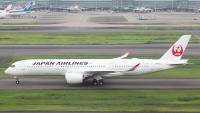 ニュース画像:JAL、11機目のA350-900 羽田空港に到着 国内線の便数拡大