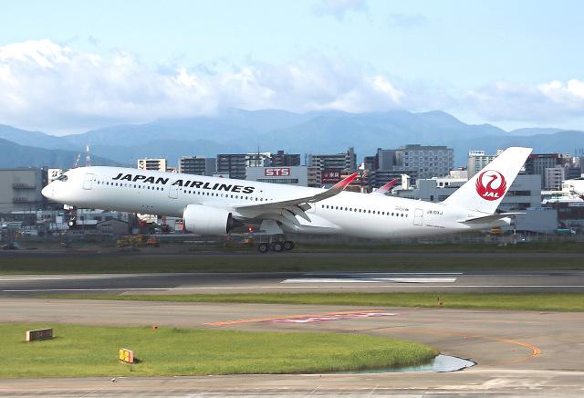 ニュース画像 1枚目:日本航空のA350 「JA10XJ」 (ansett747さん撮影)