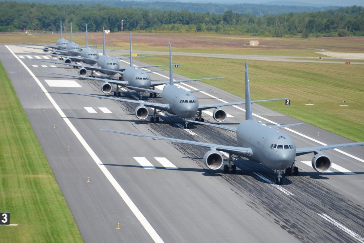 ニュース画像 1枚目:KC-46ペガサスのエレファント・ウォーク