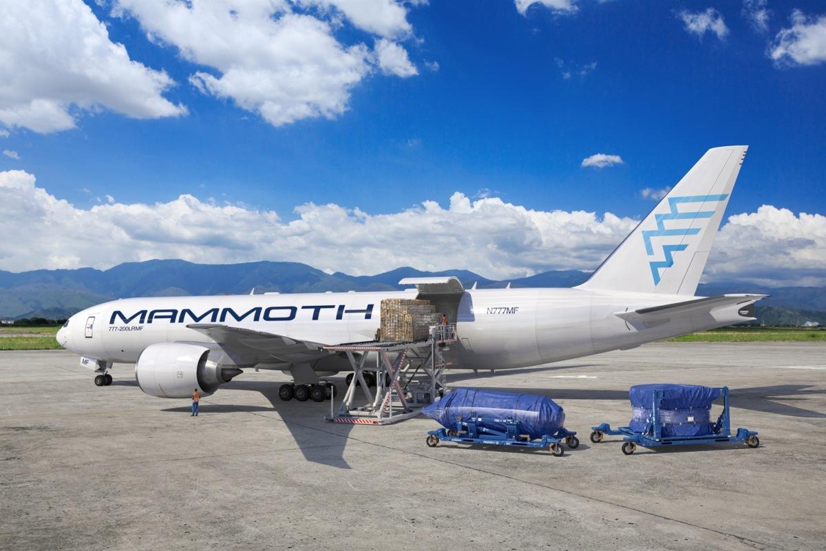 ニュース画像 1枚目:マンモス・フレイターズ、777-200LRMF イメージ