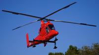 ニュース画像:アカギヘリコプターのカマンK-Max、長野で木材運搬作業中に事故