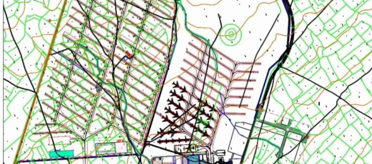 ニュース画像 1枚目:テルエル空港、駐機場拡張計画