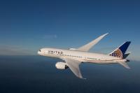 ニュース画像 1枚目:ユナイテッド航空の787、画像は787-8