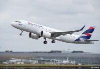 ニュース画像:ラタム・エアラインズ、A320ファミリーに燃料節約機能を搭載へ