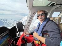 ベル407GXiヘリコプター、フェリーフライトで大西洋横断飛行の画像