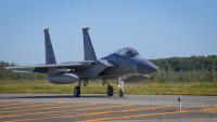 ニュース画像:嘉手納所属67戦闘飛行隊F-15C、千歳基地への訓練移転を終了