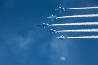 ブルーインパルス、10月23日は山形・庄内地域で展示飛行の画像