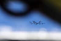 ニュース画像:アメリカ空軍B-52、空自F-15・F-2と共同訓練 対処能力の向上で