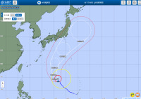 ニュース画像:台風16号、10月1日に東海・関東地方に影響か