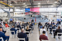 ニュース画像:シコルスキー、コネチカット工場で製造初のCH-53Kを海兵隊に納入