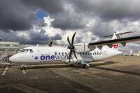 ニュース画像:JALグループの北海道エアシステム、ワンワールド特別塗装機を受領