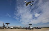 ニュース画像:イギリス空軍E-3Dセントリー、最後の王室観閲受ける