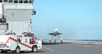 ニュース画像:「いずも」でF-35Bが発着艦 事実上の「空母」実現