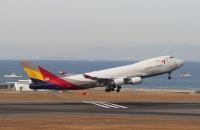 ニュース画像 4枚目:現在はアシアナ航空で活躍するかつての「JA401J」 (リリココさん 2012年1月撮影)