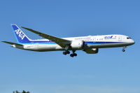 ニュース画像:ANA、9月登録した787-9「JA936A」 ヴィクターヴィルから羽田へフェリー