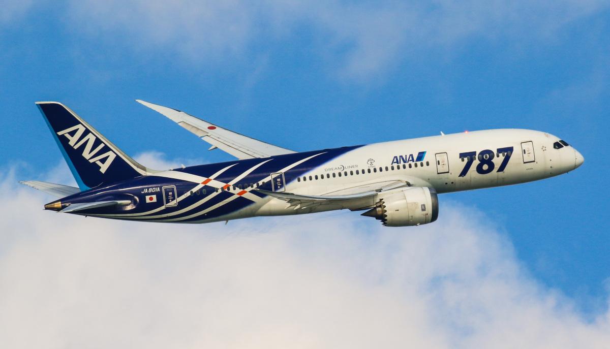 ニュース画像 1枚目:「JA801A」は導入から2017年2月末まで「787」と記されていた (SPEEDBIRD-KEIGOさん 2016年12月撮影)