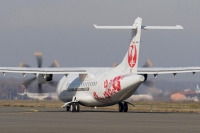 ニュース画像:熊本空港、滑走路閉鎖 天草エア運航のATRトラブルで