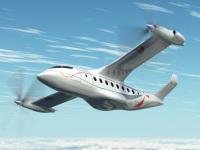ニュース画像 2枚目:高度2万5,000フィートを巡航する