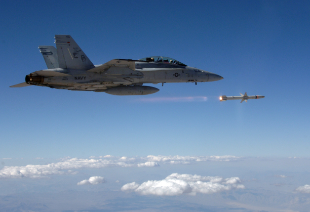 ニュース画像 1枚目:F/A-18Fから発射されるAARGM